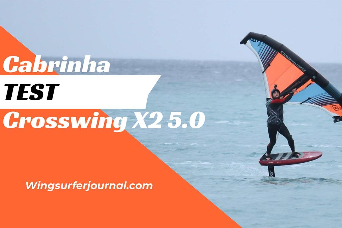 Test Cabrinha Crosswing X2 5.0