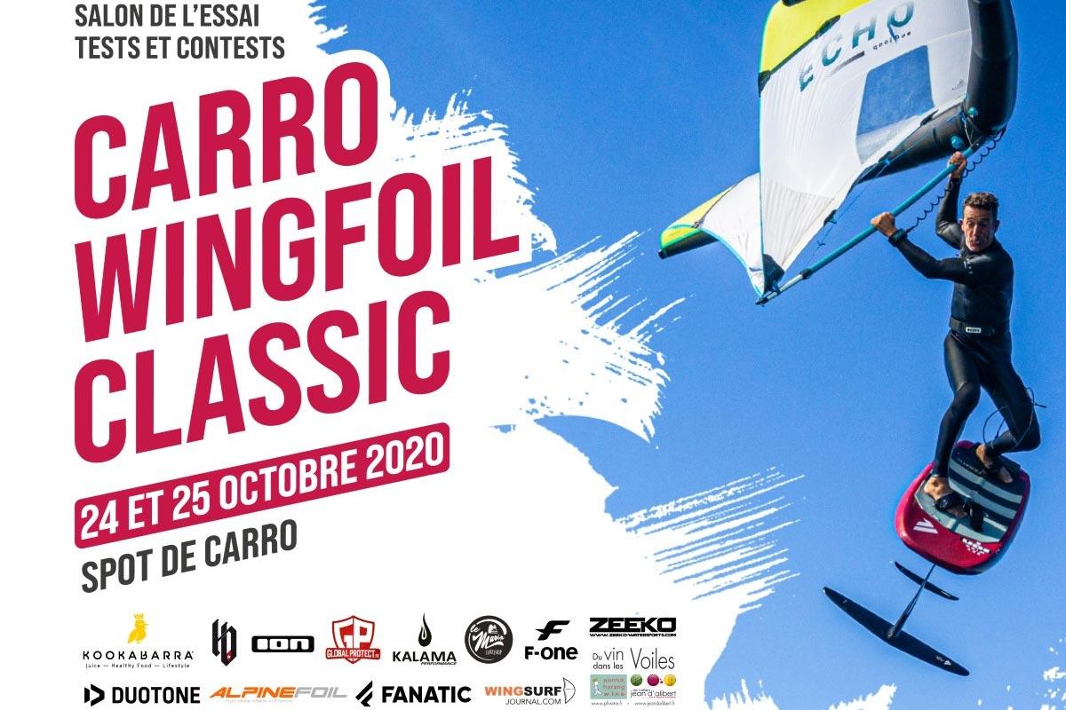 Carro Wingfoil Classic, c'est bientôt !