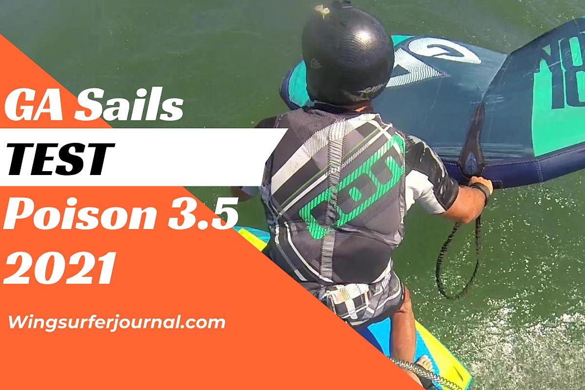 Test GA Sails Poison 3.5 2021