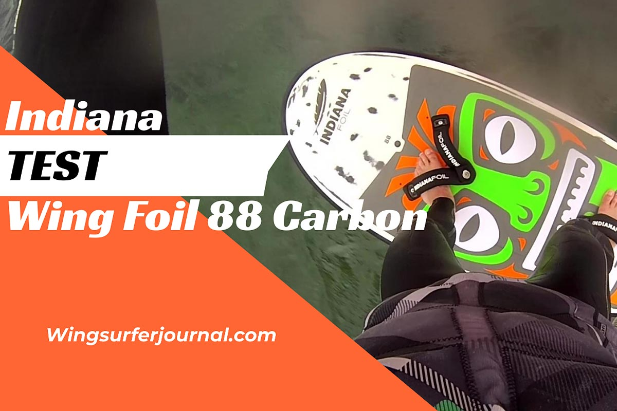 Test Indiana Wing Foil Carbon 88
