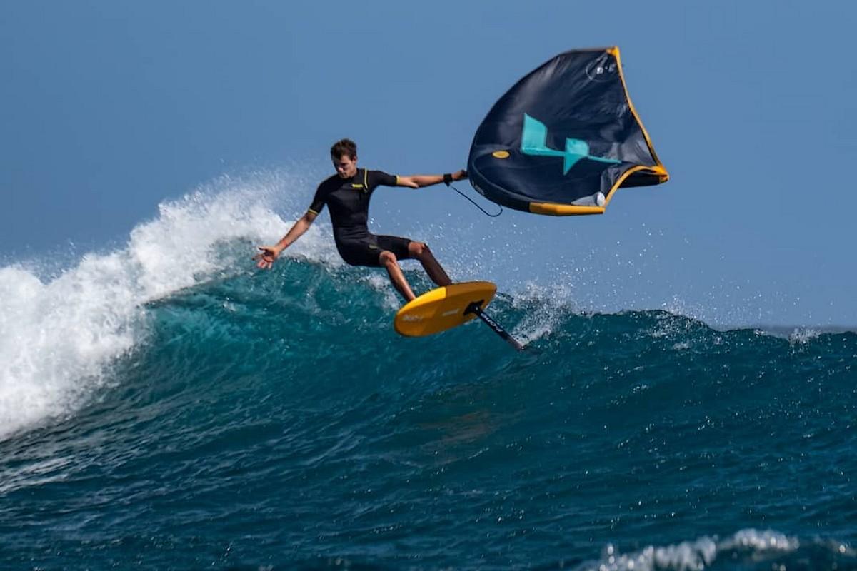Photo du jour : Dans les vagues de Manawa