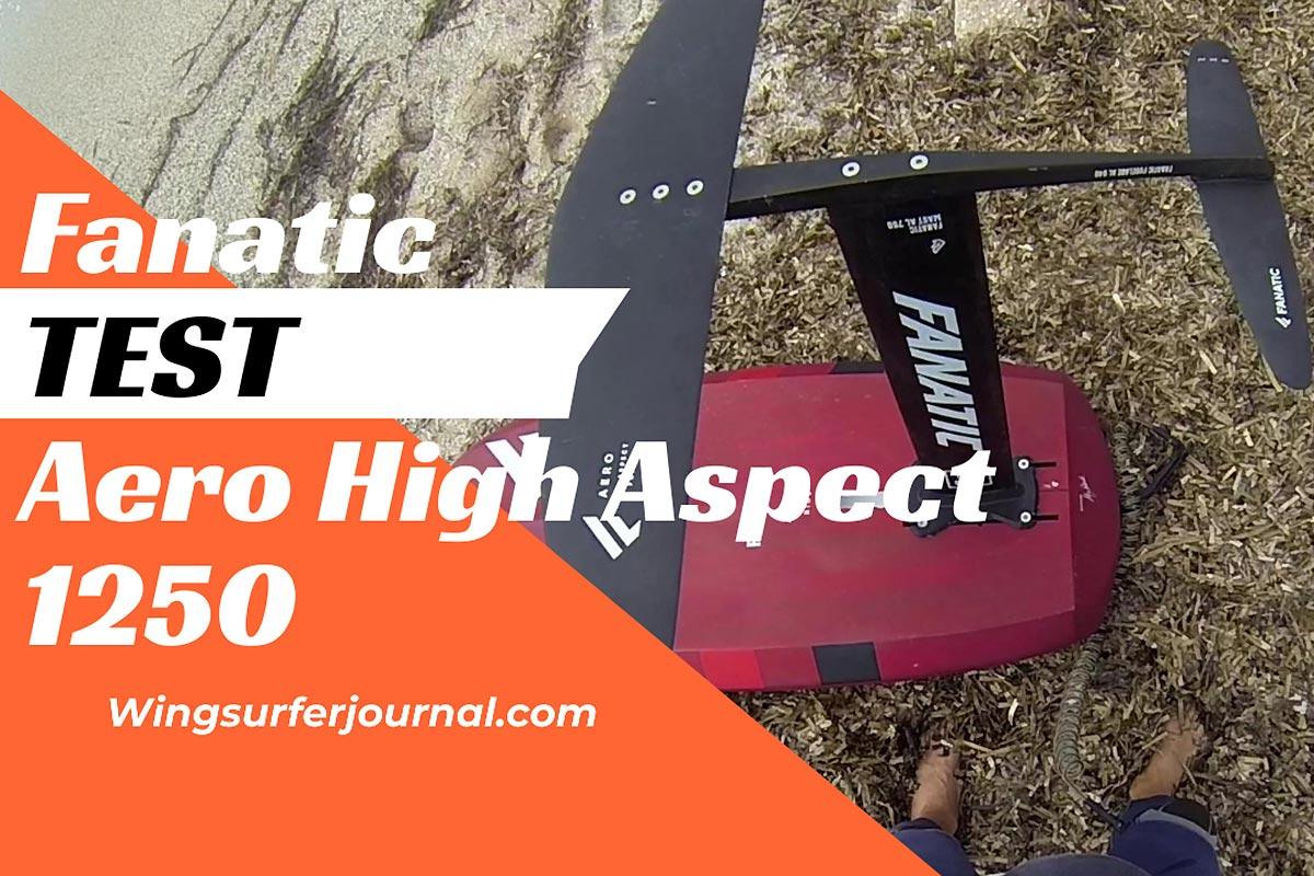 Test Fanatic Aero High Aspect Foil 1250