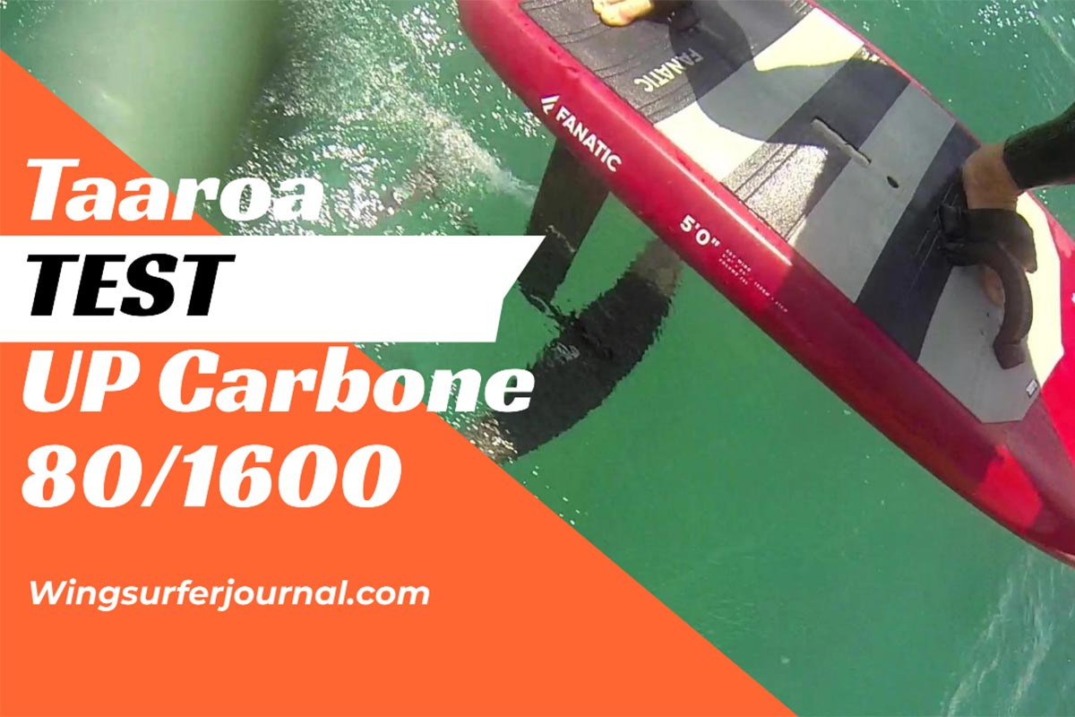 Test Taaroa UP Carbone 80-1600