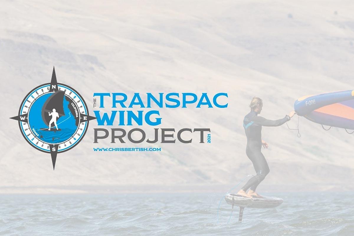 Le Transpac Wing Project par Chris Bertish