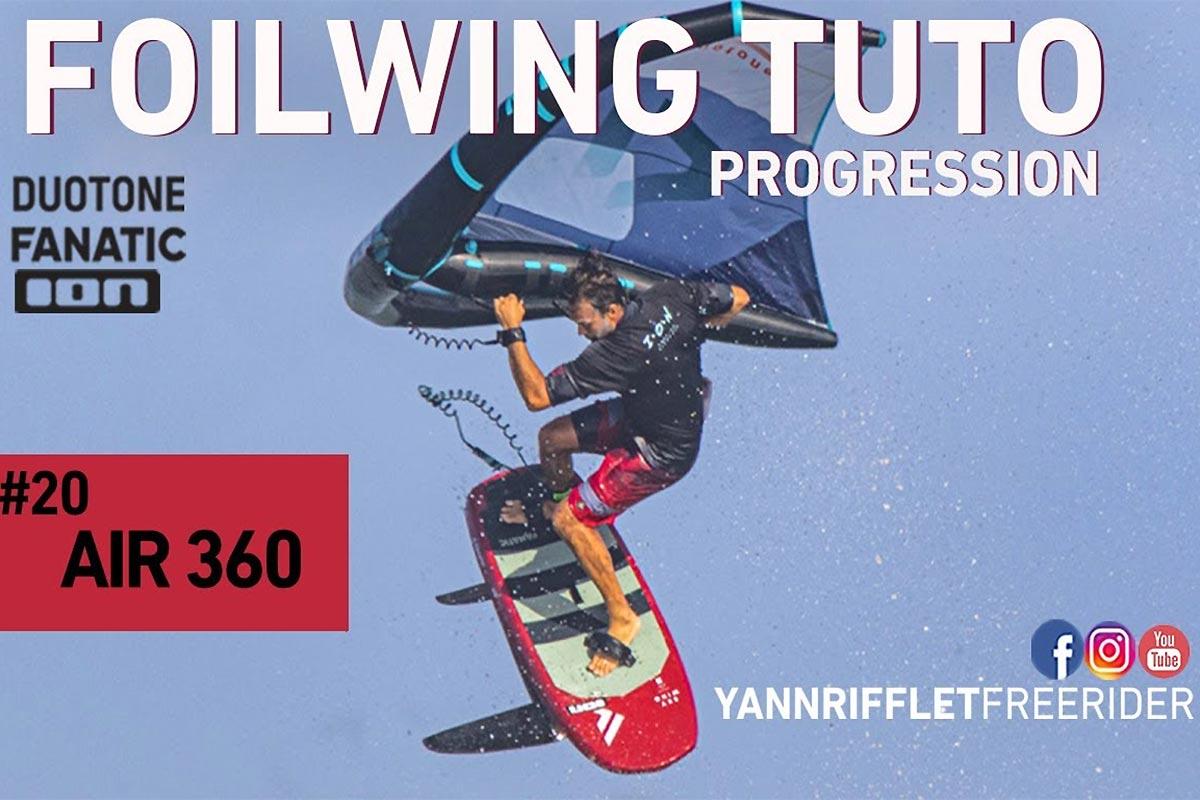 Tuto wingfoil - Réussir son frontside 360