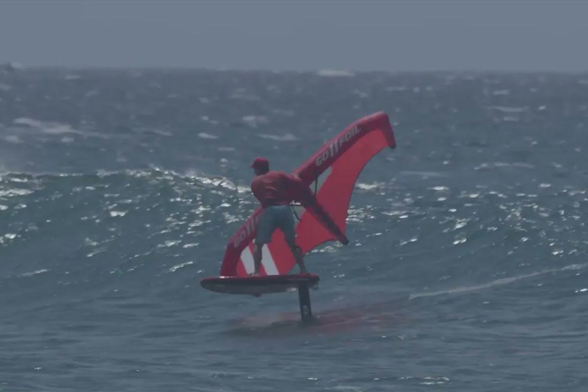 Alex Aguera en action à Maui