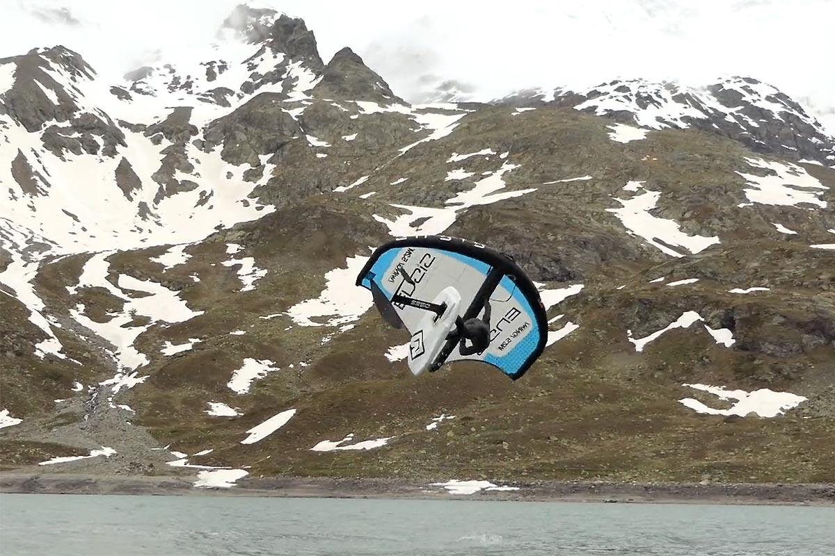 Balz Müller dans ses montagnes suisses
