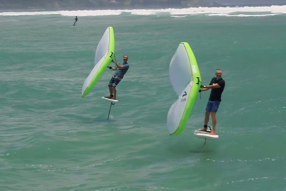 L'équipe de Boardriding Maui en action