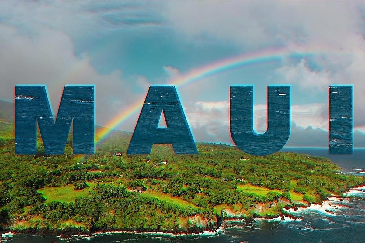 Casper Steinfath varie les plaisirs à Maui