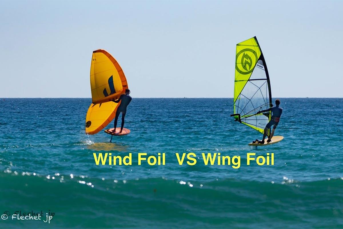 Wingfoil et windfoil à l'unisson