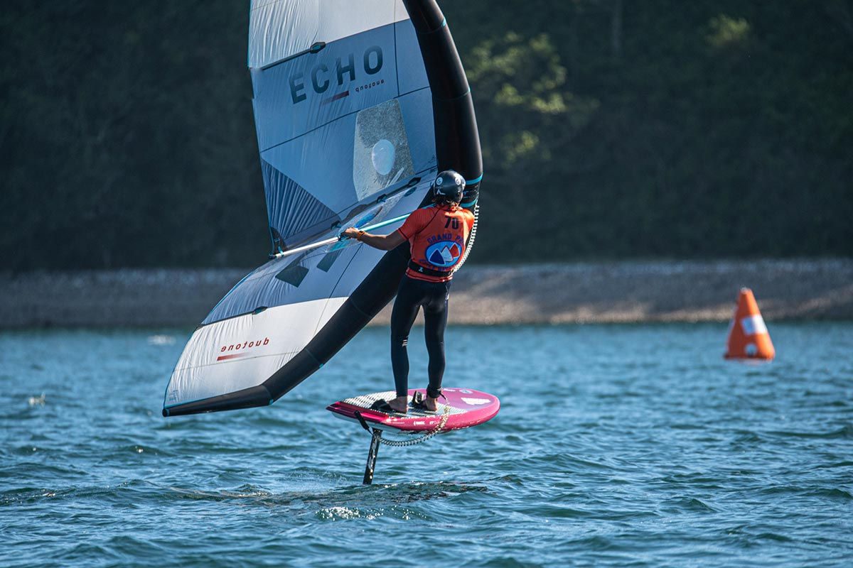 Du wingfoil sur le Grand Prix de l'Ecole Navale - Spécial Gliss'