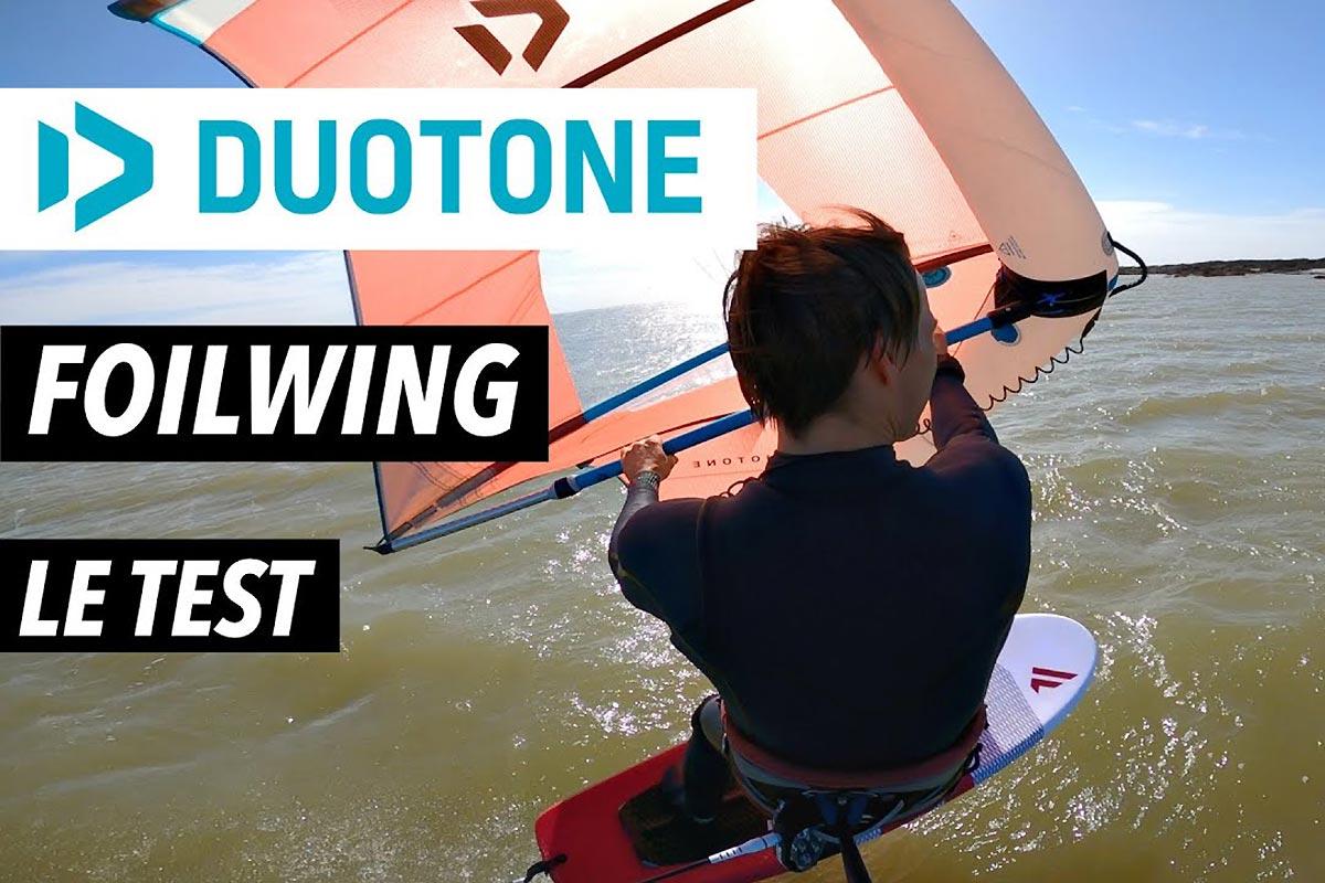 Duotone Foil Wing - Le test