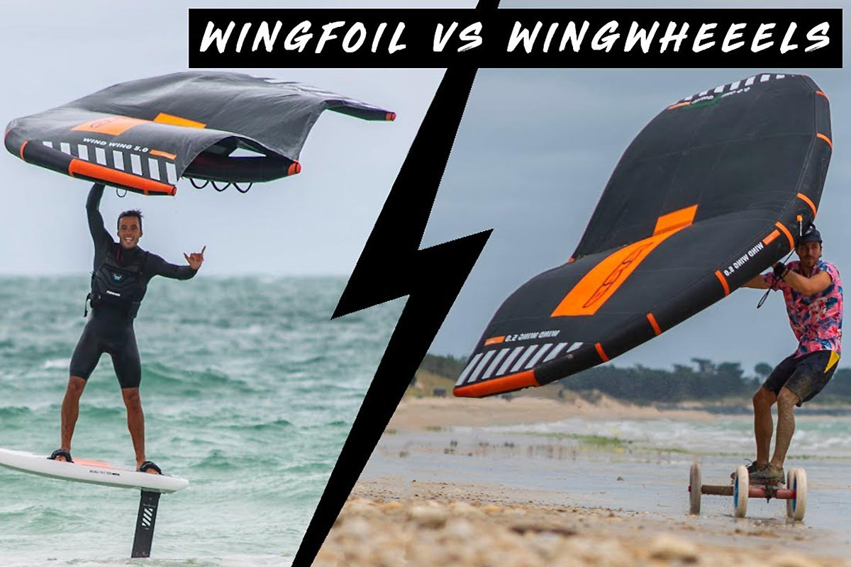 Wingfoil vs wingwheels