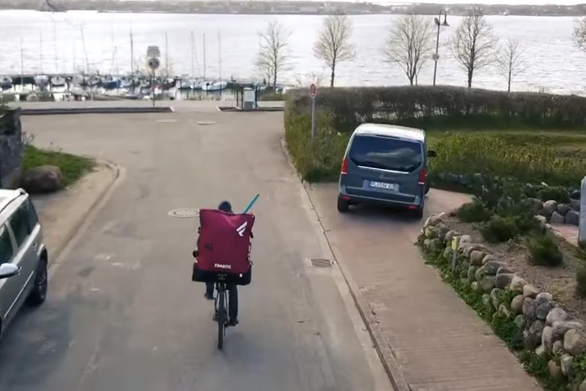 Une session à vélo pour Klaas Voget