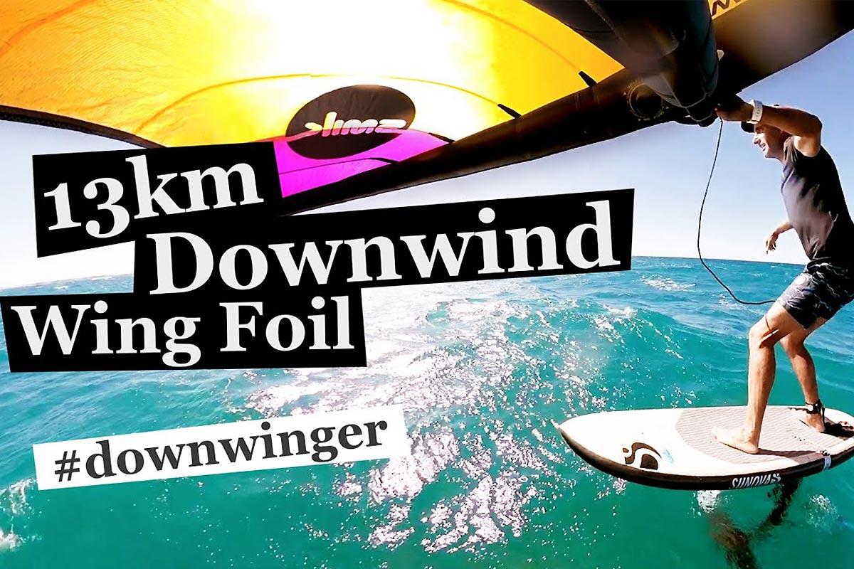 Un downwind en Western Australia