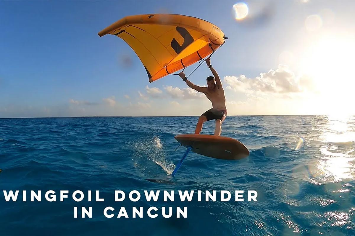 Un downwind à Cancun