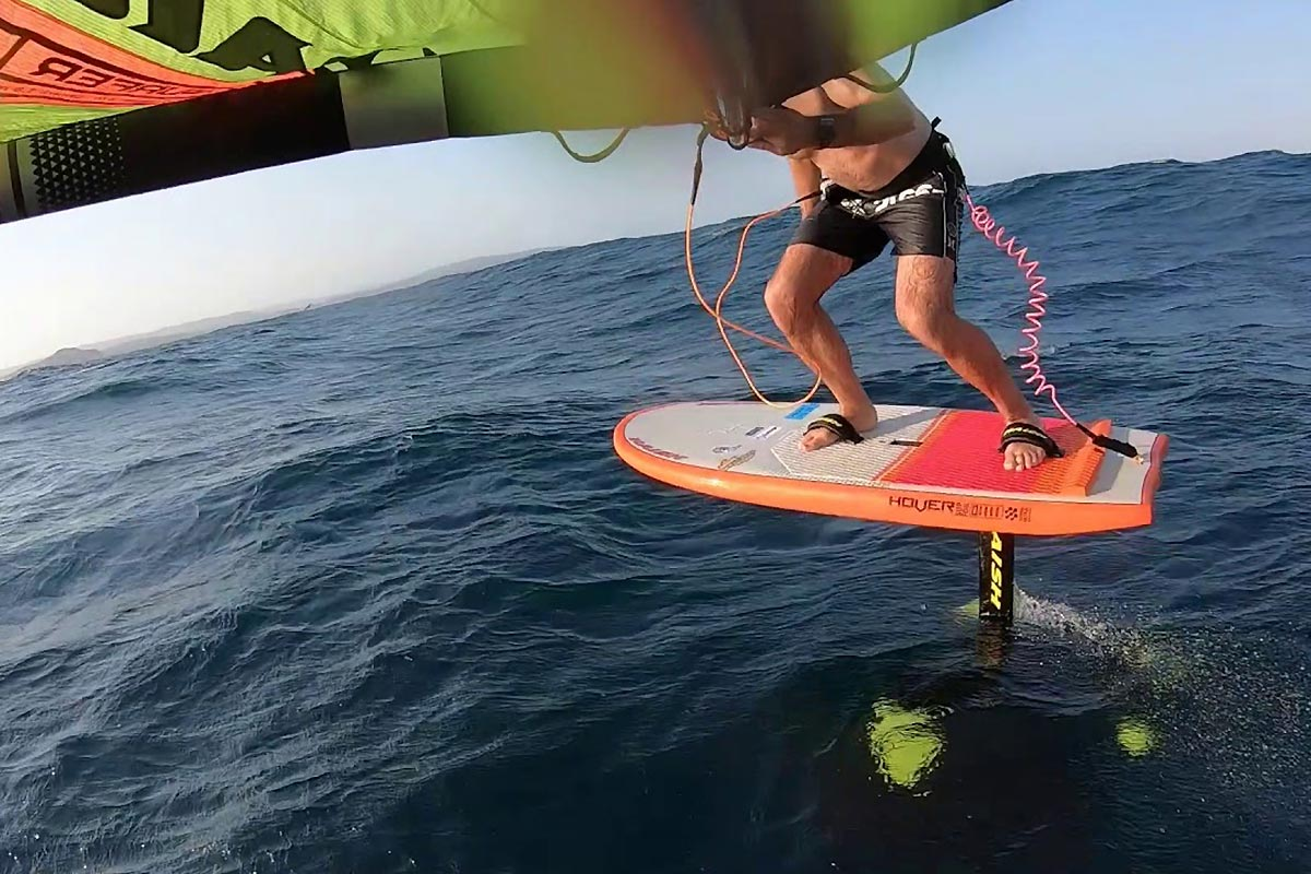 Une session downwind en Australie