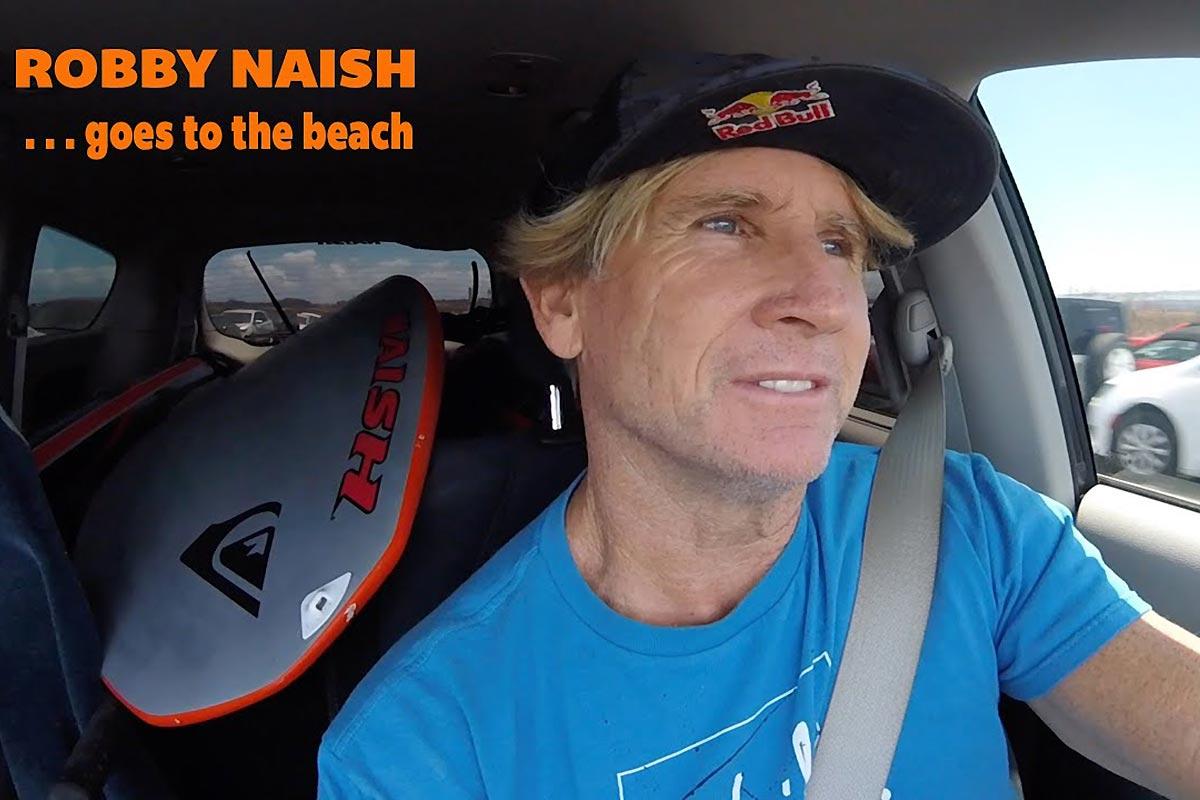 Une journée à Kanaha avec Robby Naish
