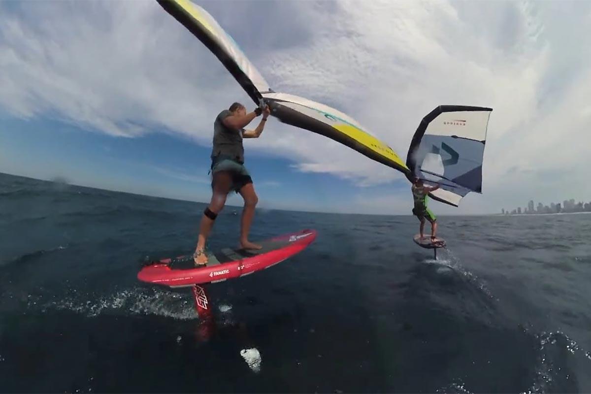 Un downwind sur la Gold Coast australienne