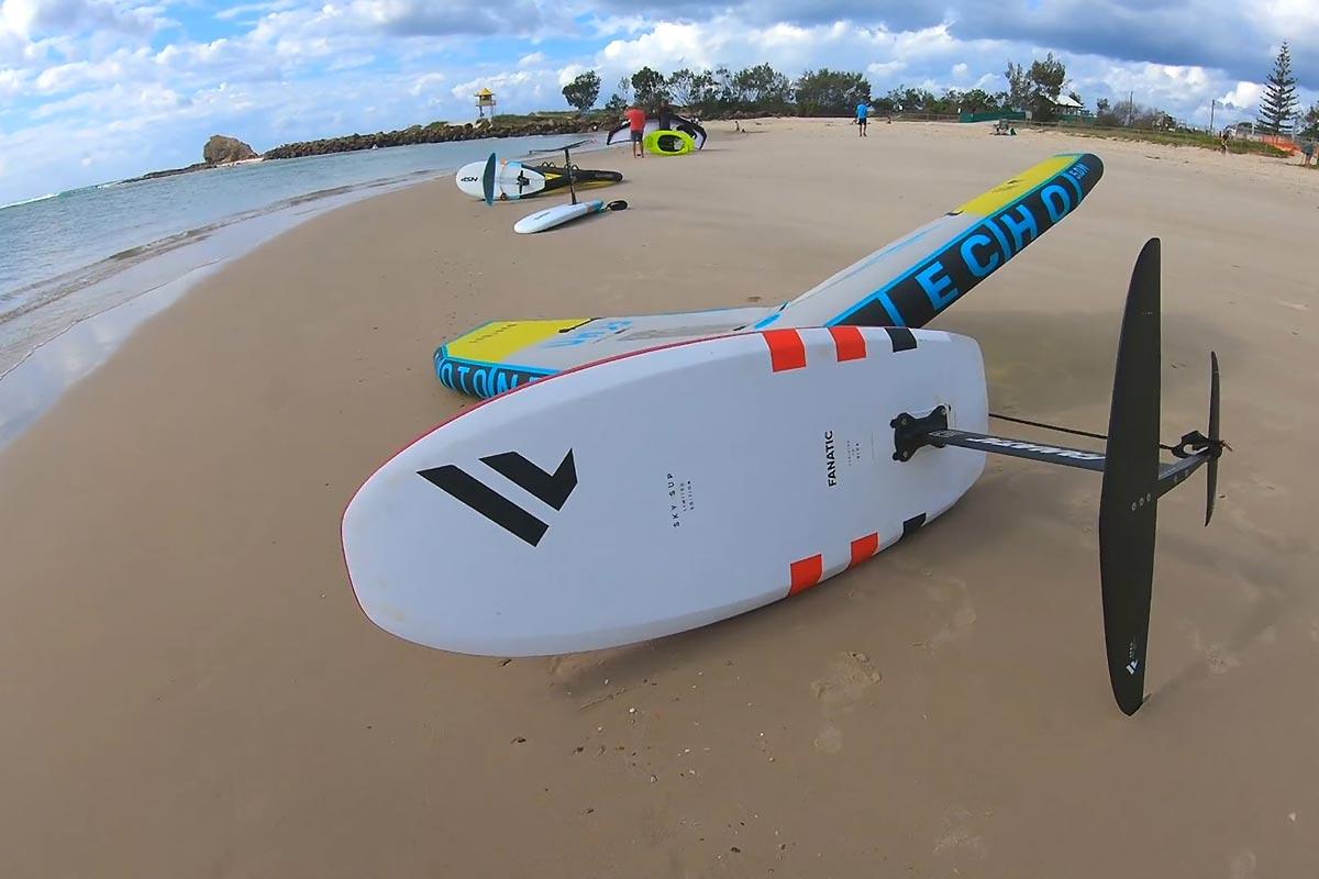 Un downwind sur la Gold Coast