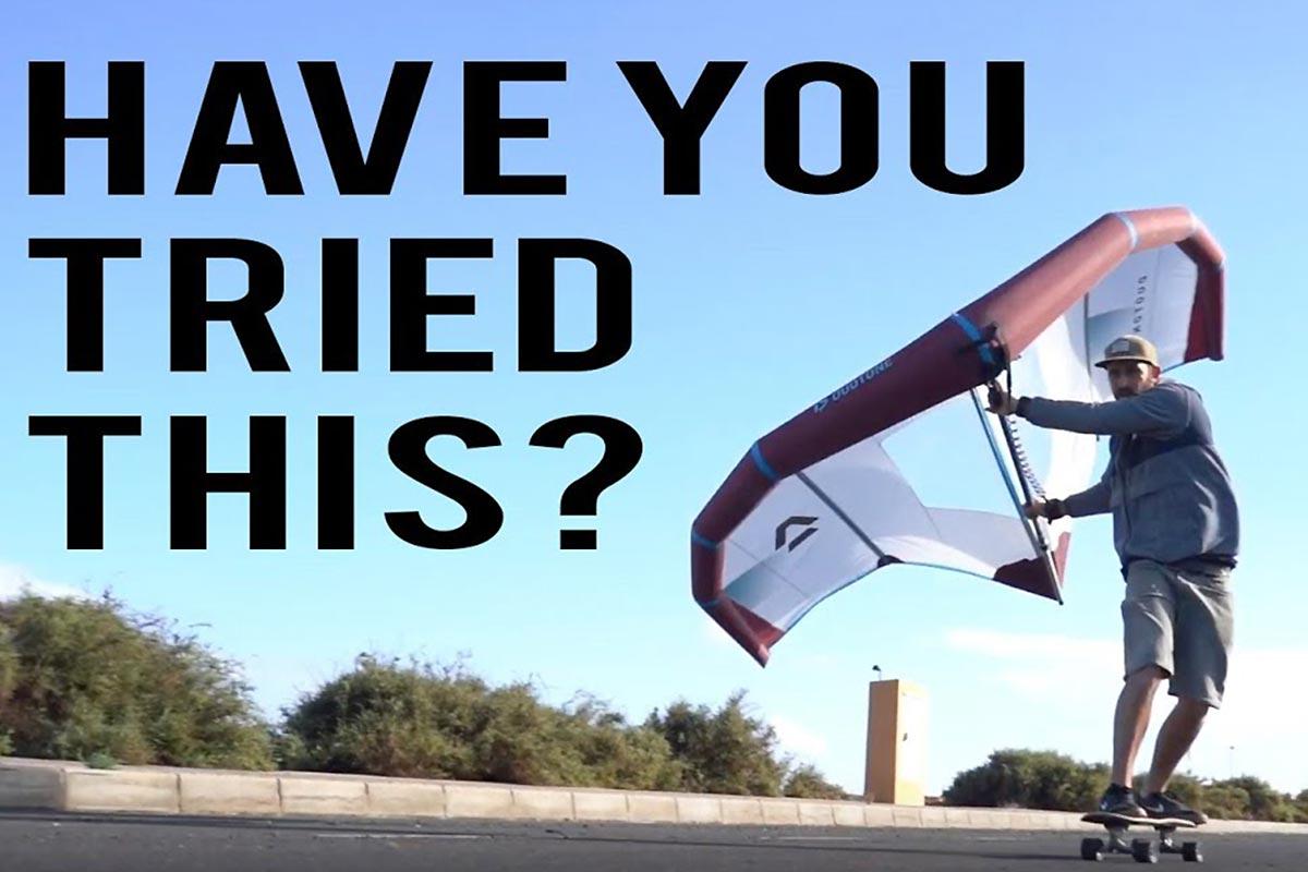 Du wingskate avec Tom Court