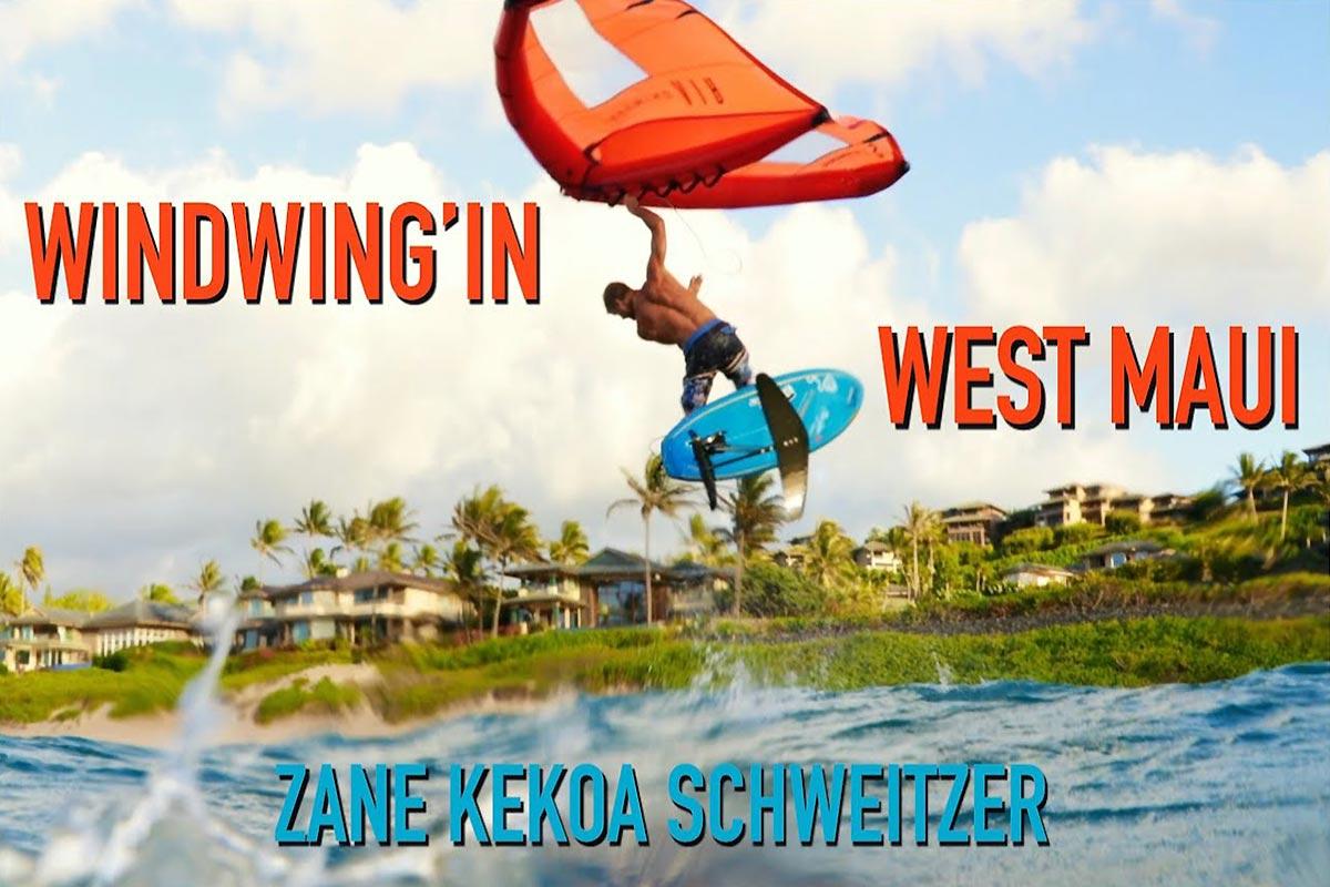 Zane Schweitzer en action à Maui